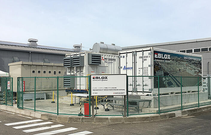 The trile hybrid power station demonstration facility