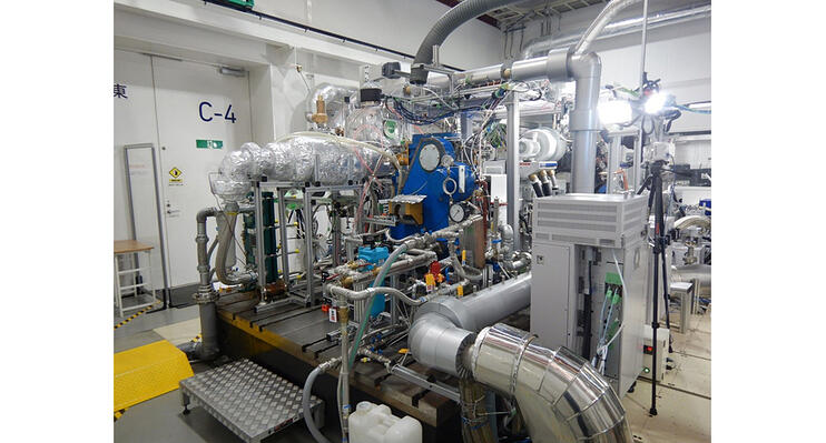 Hydrogen-engine-installed-at-the-AIST-Fukushima-Renewable-Energy-Institute