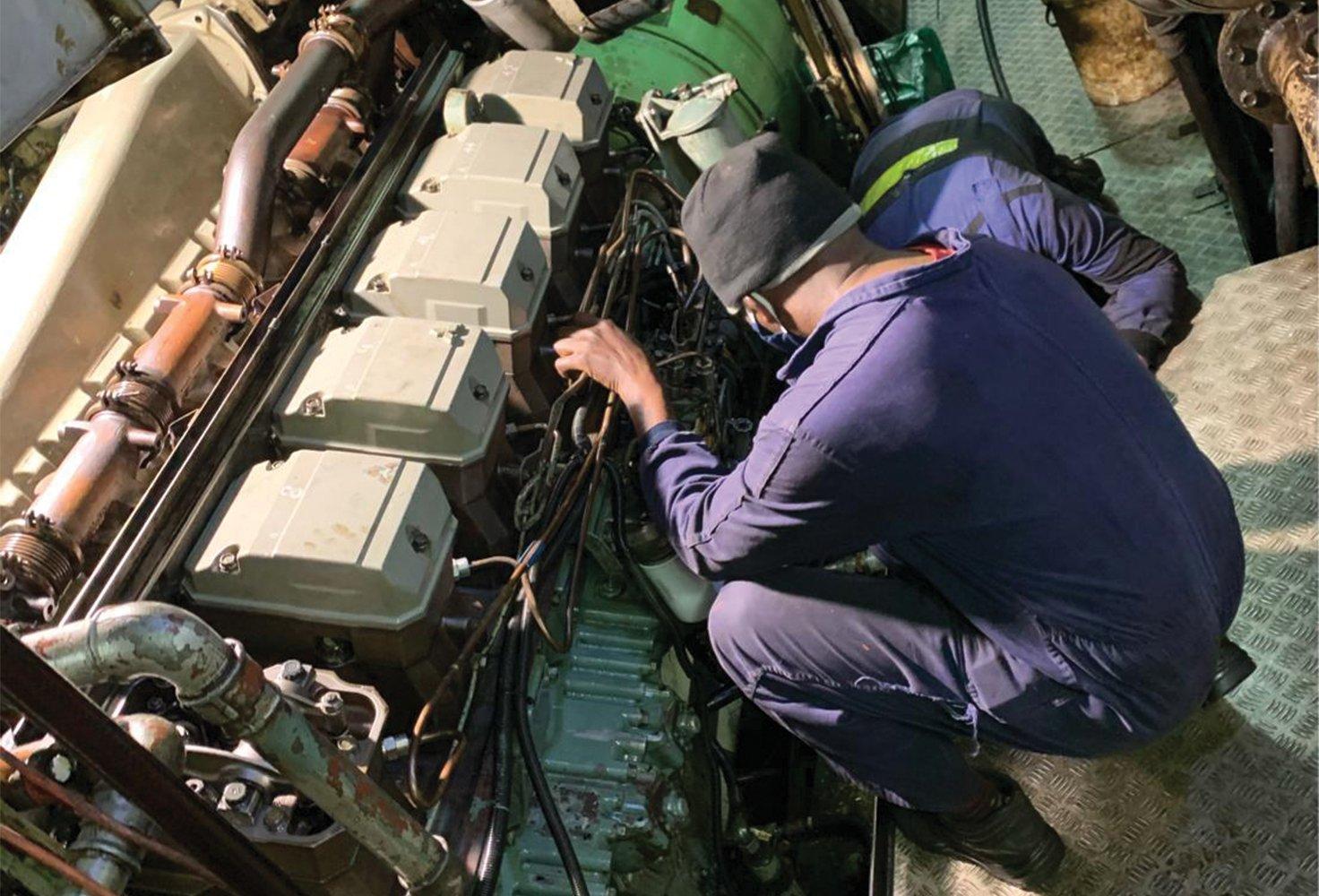 Prax Engineering on Service job Mitsubishi Engine