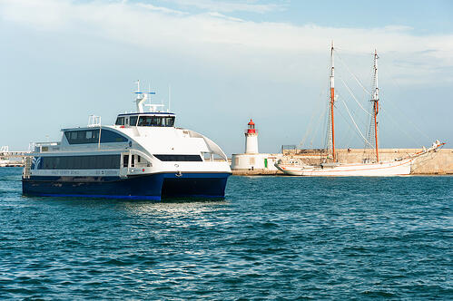 Ferries and cruises
